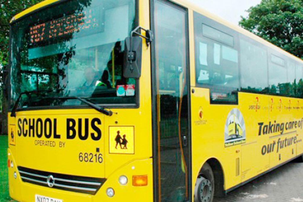 yellow school buses the radclyffe school