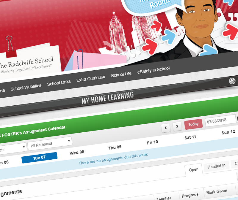 The virtual teaching and learning platform
