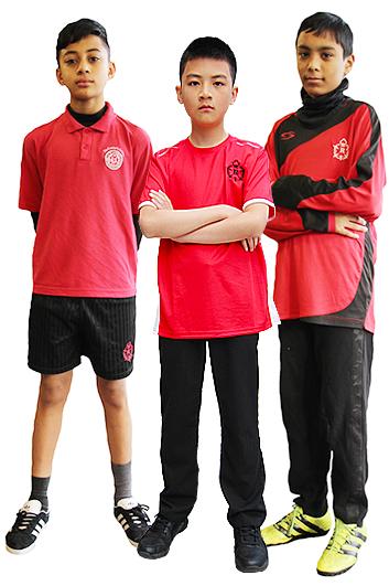 Boys' Physical education kit