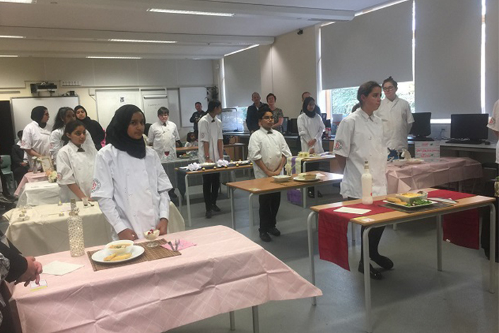 Students Cook Up A Culinary Treat