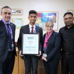 celebrating student's achievement