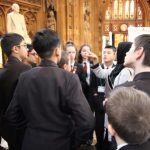 students in Parliament