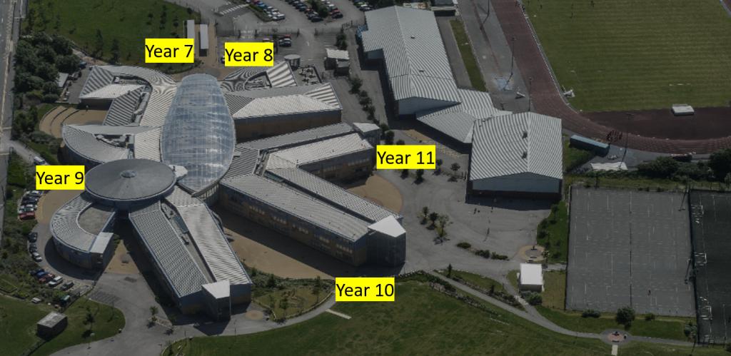 September 2020 Student Entrances